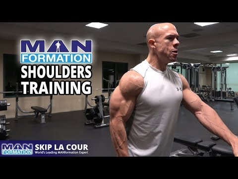 """MANformation Shoulders Training - Why """"That Guy"""" Is More Successful Than You (You Can Do It Too!)"""