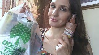 DOLLAR TREE HAUL | Shimmer Spray?!