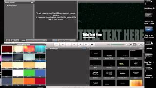 How to make a intro and outro with iMovie (Mac Only)