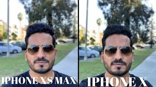 IPHONE XS MAX VS  IPHONE X CAMERA TEST - IPHONE XS CAMERA PERFORMANCE