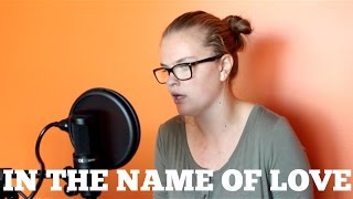 In The Name Of Love - Martin Garrix Ft. Bebe Rexha - LIVE Cover by Serena