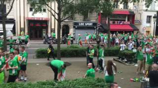 Republic of Ireland fans do their country proud at Euro 2016