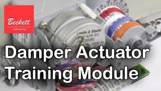 Beckett Damper Actuator Training Module