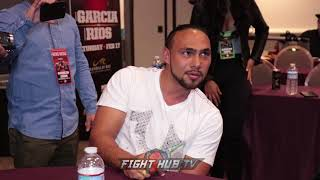 "KEITH THURMAN ""I AINT DUCKING NOBODY! STOP STRESSING THIS FIGHT GON..."