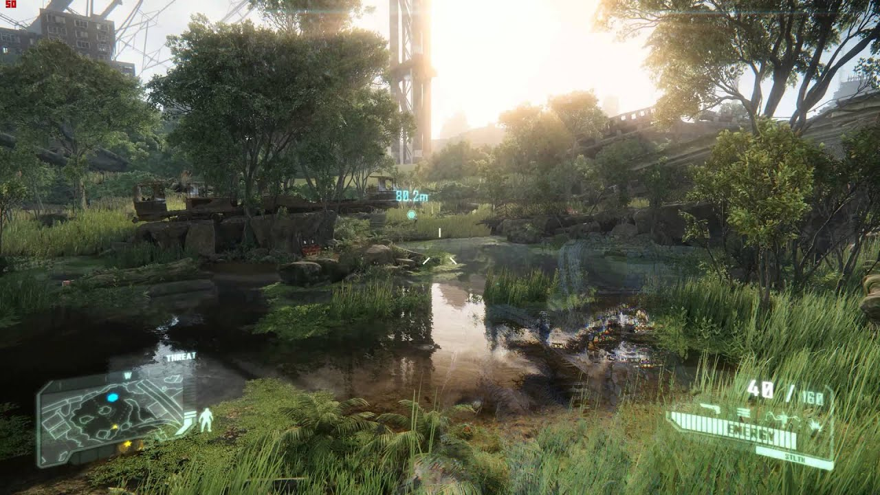Crysis 3 2013 Video Game 4k Hd Desktop Wallpaper For 4k: Crysis 3 Max Settings