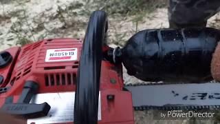 видео Заточка цепи бензопилы своими руками — пошаговая инструкция
