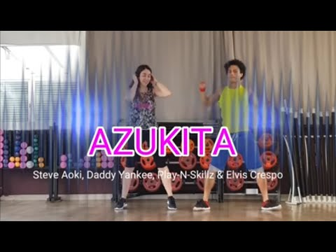AZUKITA Steve Aoki, Daddy Yankee, PlayNSkillz & Elvis Crespo  ZUMBA Brasuka Dance coreografia
