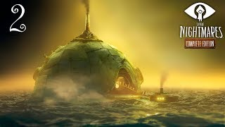 Little Nightmares: Тайны Чрева прохождение на геймпаде часть 2 Новый вид маньяка