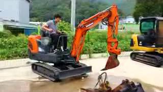 Korean used Excavator - 2009 Daewoo S015 IE448805 Autowini.com]