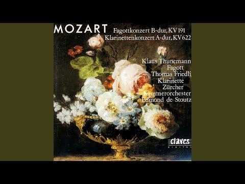 Bassoon Concerto in B-Flat Major, K 191: I. Allegro
