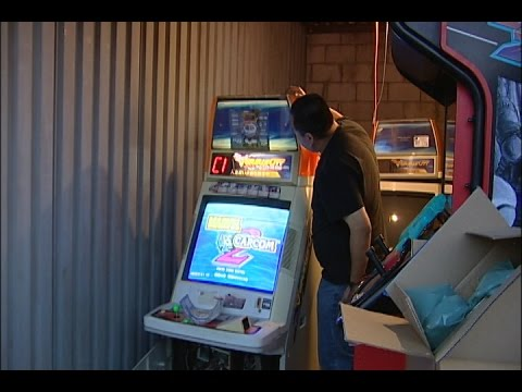Sega New VS City Candy Cab With Marvel VS Capcom 2 and Trophy Preview!