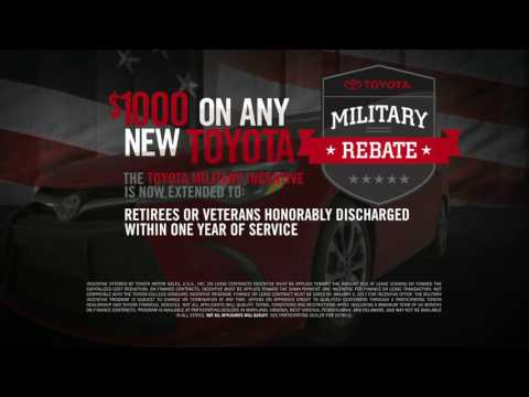Toyota Salutes the Military December 2016
