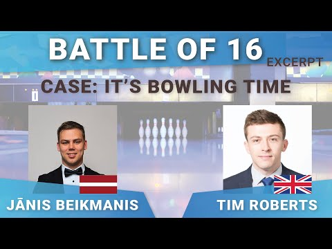 Battle of 16 Excerpt - It's Bowling Time Case