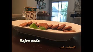 Tasty and Healthy Bajra Vada