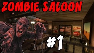 "The 23 PERK ZOMBIE SALOON!?!? [1] ★ ""An EPIC TROLL!"" (CoD Custom Zombies Maps/Mods)"