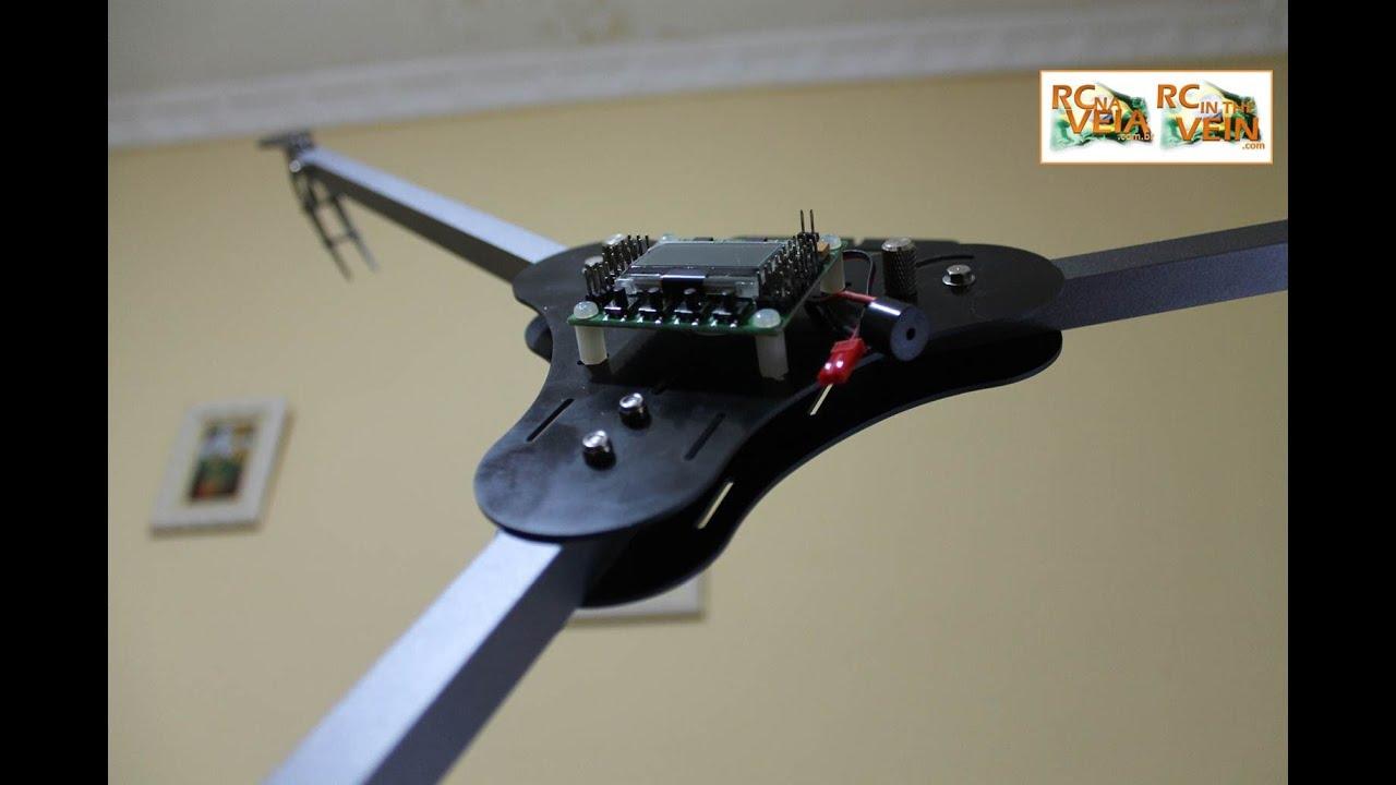 RC NA VEIA - Assembling X900 tricopter frame - YouTube