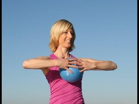 Pilates ideas mit Ball Gabi Fastner