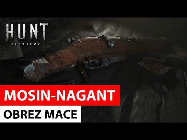 Hunt: Showdown - Mosin-Nagnat Obrez Mace (with Bulletgrabber trait)