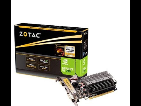 UNBOXING NVIDIA GEFORCE GT 730 4GB DDR3 (64-BIT) WITH GAMEPLAY