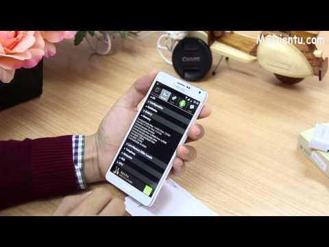 MSDIENTU :Đập hộp Samsung Galaxy Note 4 Trung Quốc