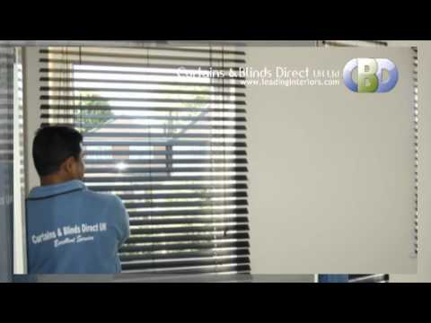 Harrow Wooden Venetian Blinds at www.leadinginteriors.com