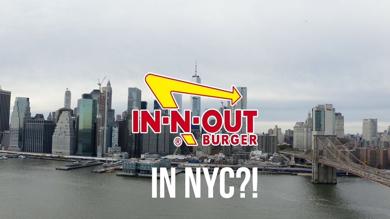 HOW I BROUGHT IN-N-OUT TO NEW YORK #RedVsGreen