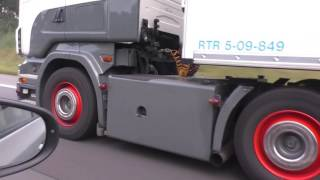 SCANIA R500 V8 Topline - Røling - Sound on the Road [HD]