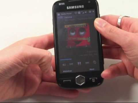 Samsung i8000 Omnia 2 Test Musikplayer