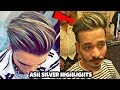 Silver Ash Platinum Blonde Highlights For Mens 2018 || By SHAIKHs LIFESTYLE ||