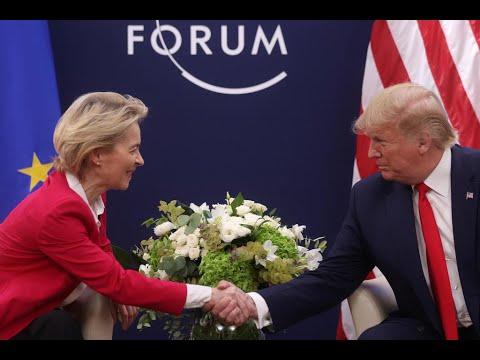 منتدى دافوس: ترامب يهدد الأوروبيين بمعركة تجارية في حال عدم التوصل لاتفاق  - نشر قبل 7 ساعة