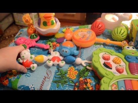 Игрушки для детей до года и младенцев с 0 до 18 месяцев