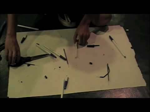 how to make a spitball gun out of a pen