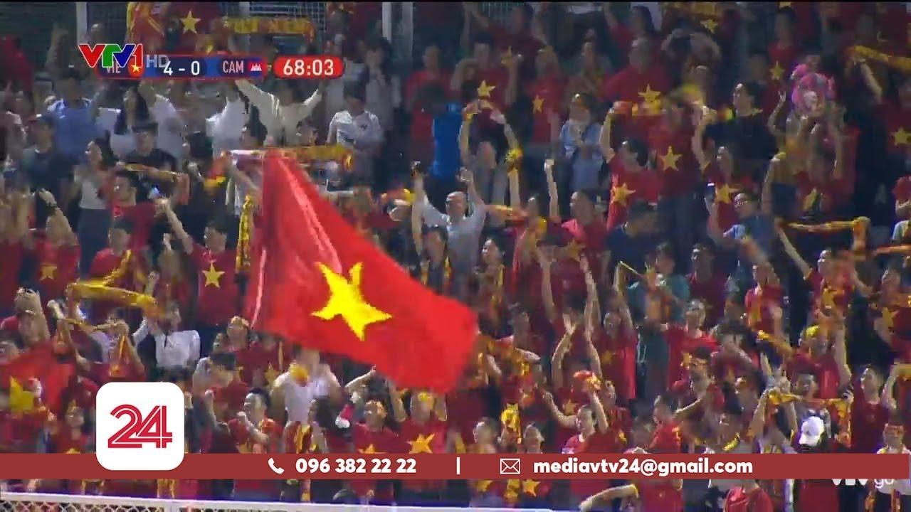 ĐT U22 Việt Nam vào chung kết SEA Games 30 | VTV24