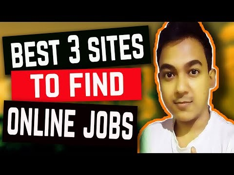 Best 3 Websites To Find Online Work From Home Jobs