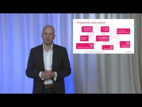 Christian Fredrikson's speech –  Fingerprint Cards' Annual General Meeting 2017 (in English)
