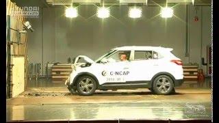 Hyundai Creta ix25 crash test 2015 смотреть