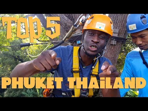 5 THINGS TO DO IN PHUKET THAILAND