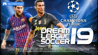 Dream League Soccer 2019 Mod Uefa Champions League