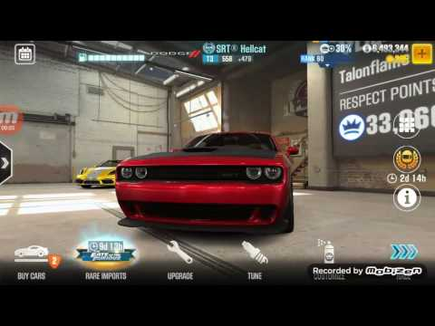 Dodge Challenger SRT Hellcat VS Buggati Veyron who will win CSR2 (VEYRON'S REVENGE READ DISCRIPTION)