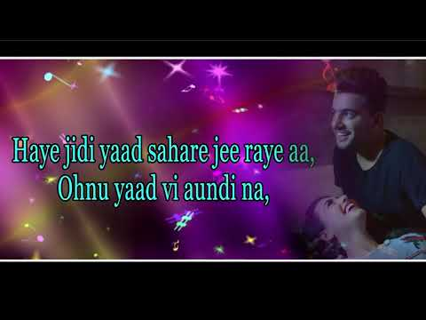Without You Lyrical video |Jass Manak|