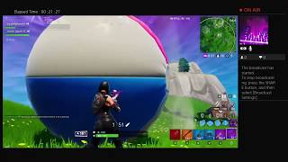 Fortnite with Izaiah finally getting dubs hopefully