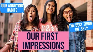 First Impressions of Each Other? Q&A with The Timeliners Engineering Girls! | Sejal Kumar