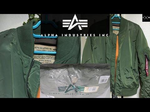 ALPHA INDUSTRIES - MA1 Flight Jacket Review - Slim Fit - Sage Green