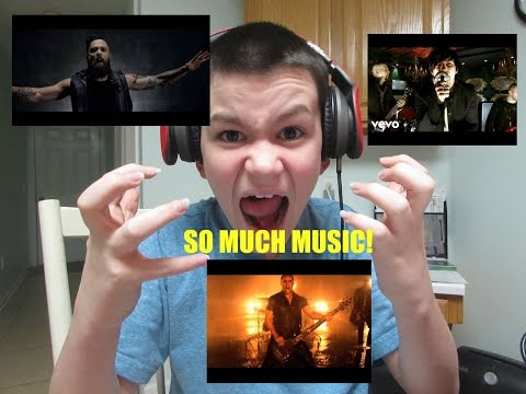 MUSIC VIDEOS Skillet -  Feel Invincible,Hero,Three Days Grace - Aniamal I Have Become [Reaction]