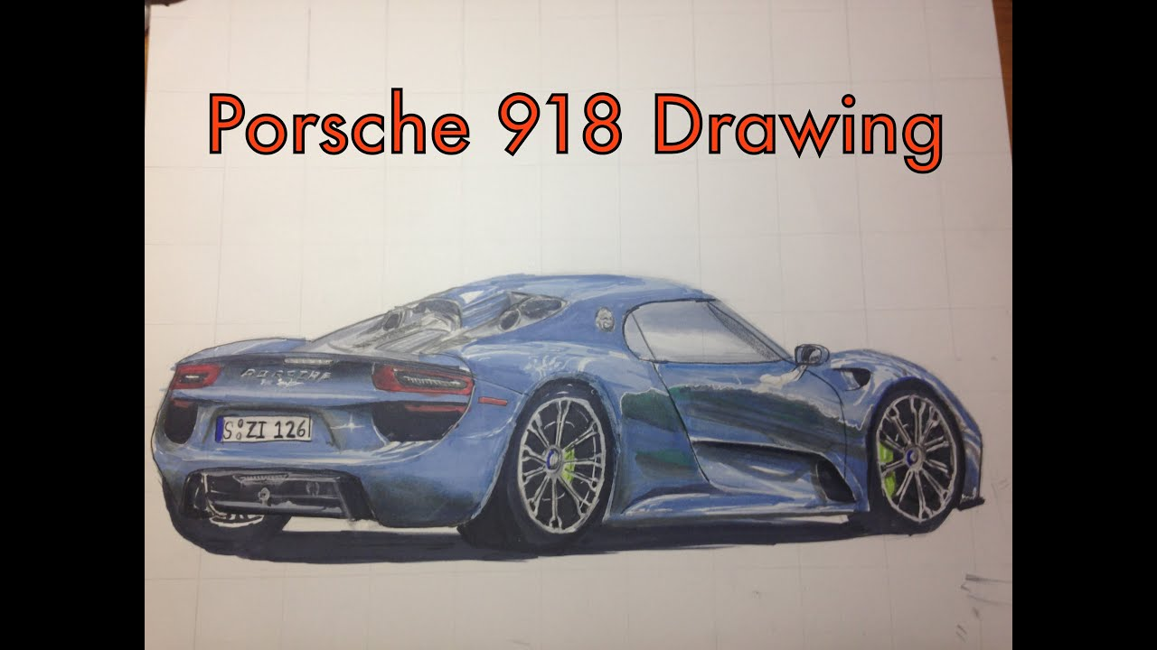 Porsche 918 Drawing - YouTube on porsche boxster drawings, porsche cayenne drawings, hennessey venom gt drawings, porsche macan drawings, sports car drawings, lamborghini drawings, porsche concept drawings, porsche panamera drawings, chevrolet camaro drawings, porsche 962 drawings, nissan gt-r drawings, fiat 500 drawings, bugatti veyron drawings, porsche turbo drawings, porsche carrera drawings, porsche 550 spyder drawings, still life pencil drawings, porsche carrera gt, bmw i8 spyder drawings,