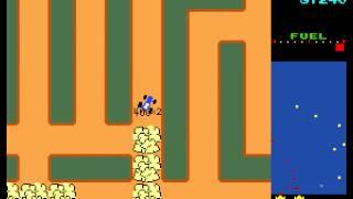 Arcade Game: Rally X (1980 Namco)