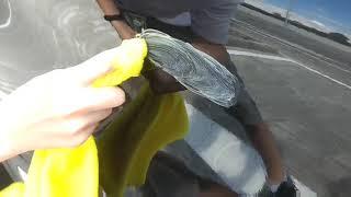 убираем царапины с автомобиля при помощи Антицарапина. Антицарапин. Работает или нет?