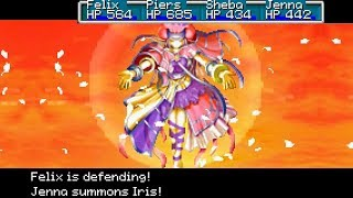 Golden Sun: The Lost Age All Summons HD