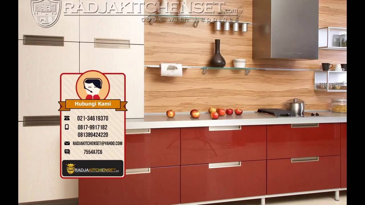 Harga kitchen set aluminium composite panel 081389424220 for Harga kitchen set aluminium per meter
