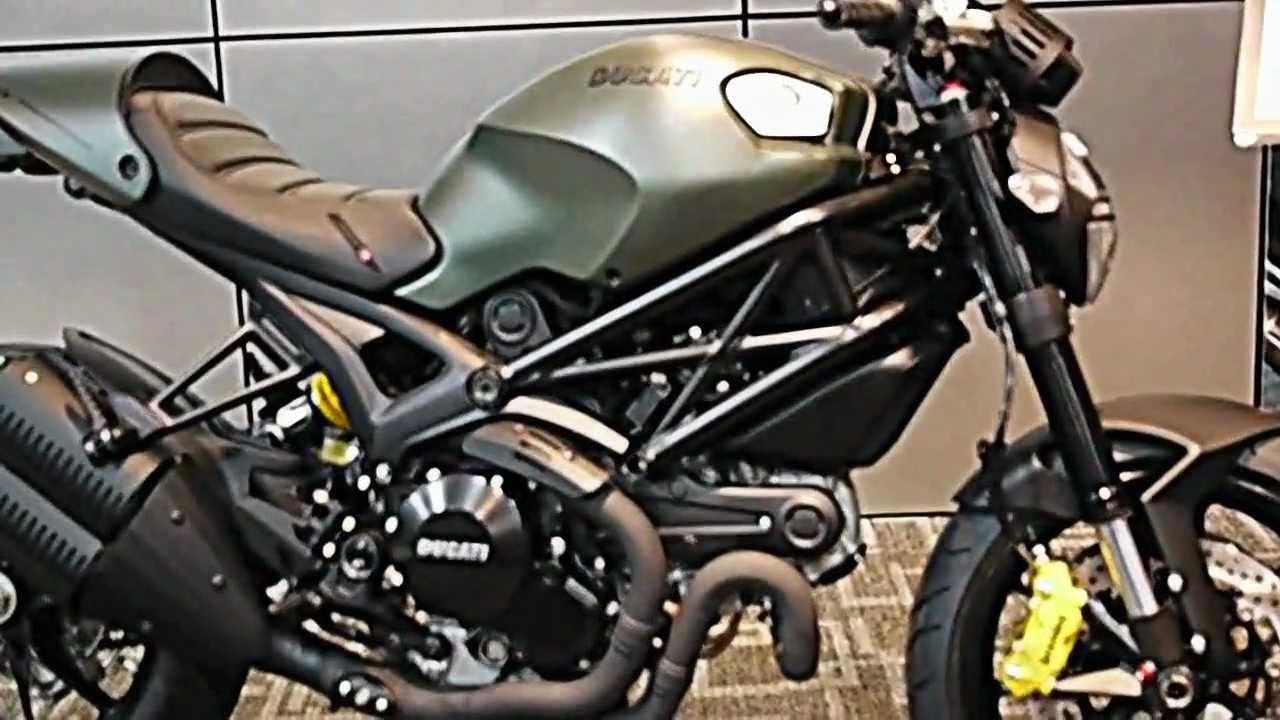 ducati monster 1100 diesel edition.(ducati rama3 channel) - youtube
